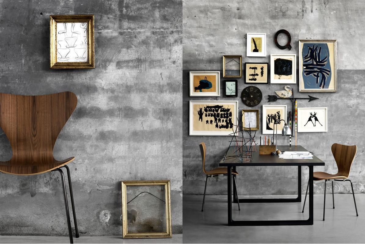 the series 7 chair by arne jacobsen via adventurous design quest. Black Bedroom Furniture Sets. Home Design Ideas