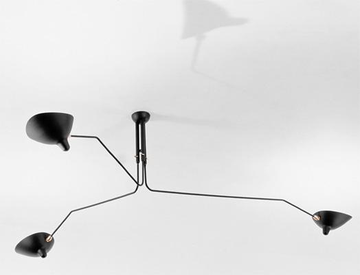 design icons serge mouille. Black Bedroom Furniture Sets. Home Design Ideas