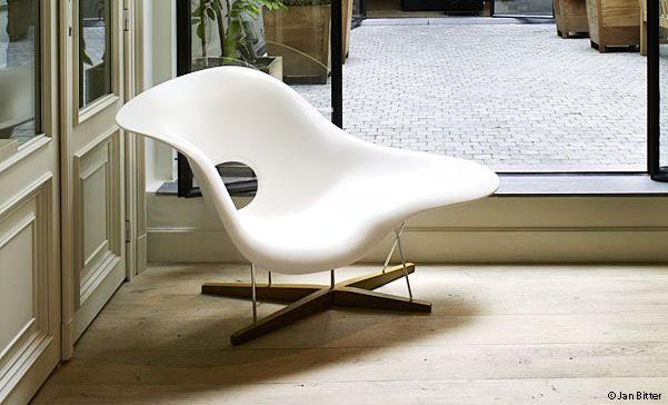 La Chaise en blanc