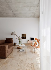 Butterfly chairs in a German house designed by Studio Oink - via My Scandinavian Home